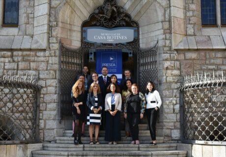 Miembros de PRESEA en la Asamblea de 2019 celebrada en la Casa Botines en León.